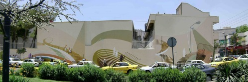 Mehdi Ghadyanloo - 2009 - Street art illusions - Life Stairs
