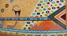 Mehdi Ghadyanloo - Ceramic Mosaic - Visual Memories of Iran - 01