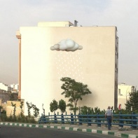 Mehdi Ghadyanloo - Not on wall yet (Photoshop composite) - Hope (Cloud) - 01
