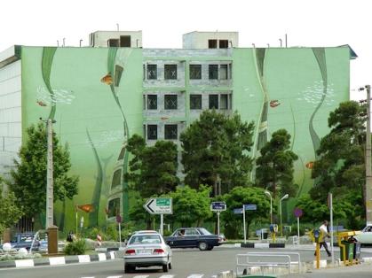 Mehdi Ghadyanloo - Street art illusions - 01b