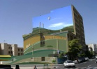 Mehdi Ghadyanloo - Street art illusions - Flying - 06 - (Photoshop composite)