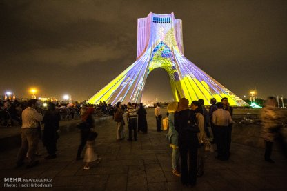 Tehran, Iran - Azadi Tower - Gate of Words by Phillip Geist 05