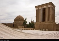 Yazd, Iran - Yazd City - Windcatchers (Ancient Iranian Cooling System) 02