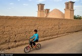 Yazd, Iran - Yazd City - Windcatchers (Ancient Iranian Cooling System) 04