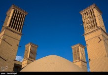 Yazd, Iran - Yazd City - Windcatchers (Ancient Iranian Cooling System) 10