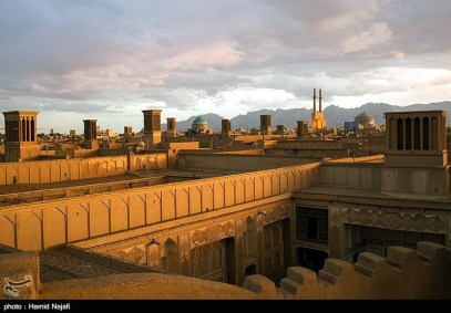 Yazd, Iran - Yazd City - Windcatchers (Ancient Iranian Cooling System) 13