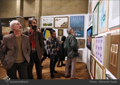 8th Haft Negah (Seven Views) - Iranian expo at Niavaran Cultural Complex, organized by the Aria, Elaheh, Dey, Golestan, Haft Samar, Vaali and Mah-e Mehr galleries - 13