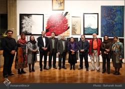 8th Haft Negah (Seven Views) - Iranian expo at Niavaran Cultural Complex, organized by the Aria, Elaheh, Dey, Golestan, Haft Samar, Vaali and Mah-e Mehr galleries - 16