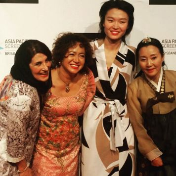 Nominees for Best Performance by an Actress at the Asia Pacific Screen Awards (APSA) in Australia - November, 2015 (Photo by APSA)