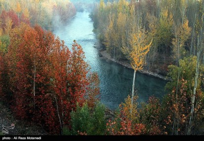 Chaharmahal and Bakhtiari, Iran – Autumn - Along the Zayandeh River (Zayanderud) 06