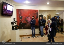 Commemoration of Iranian artist Morteza Momayez with French Graphic Designer Michel Bouvet 14