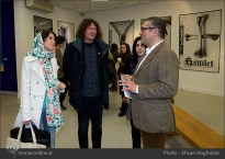 Commemoration of Iranian artist Morteza Momayez with French Graphic Designer Michel Bouvet 26