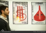 Commemoration of Iranian artist Morteza Momayez with French Graphic Designer Michel Bouvet 31