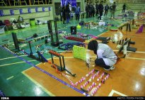 Domino competitions in Hamedan, Iran (2015) 03