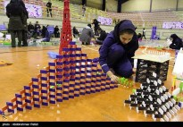 Domino competitions in Hamedan, Iran (2015) 06