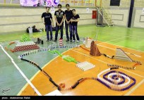 Domino competitions in Hamedan, Iran (2015) 08