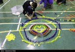 Domino competitions in Hamedan, Iran (2015) 09