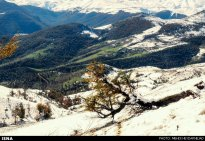Gilan, Iran – Autumn - Snow in Talesh 02