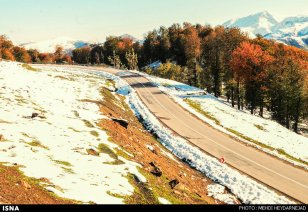 Gilan, Iran – Autumn - Snow in Talesh 08