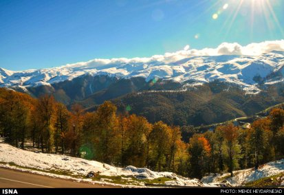 Gilan, Iran – Autumn - Snow in Talesh 09