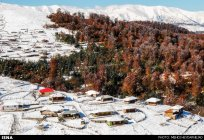 Gilan, Iran – Autumn - Snow in Talesh 10