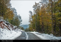 Gilan, Iran – Autumn - Snow - Mountains near Masal 03