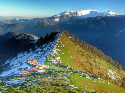 Gilan, Iran – Autumn - Snow - Mountains near Masal 22 - (Photo credit masal.nature - Instagram)