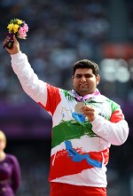 Kaedi, Mohsen - 2012 London Paralympics - F34 Men's Shot Put