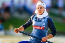 Keramjani, Fatemeh - Iranian Canoeist (2014)