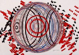 Mohamadreza Ahmadi Monfared – 2015 – Quantum Soup - Paintings and drawings - Mohsen Gallery in Tehran, Iran – 16