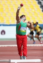Mohammadian, Sajad - 2015 IPC Athletics World Championships - F42 Men's Shot Put - Silver