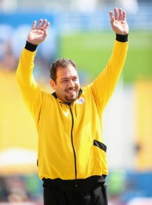 Saleh Farajzadeh, Siamak – 2015 IPC Athletics World Championships – F34 Men's Shot Put – Gold