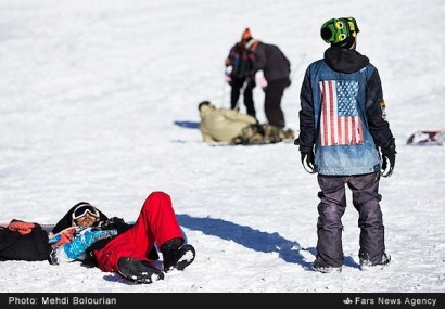 Tehran, Iran - Tochal International Ski Resort - 2015 - 07