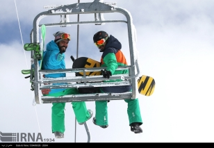 Tehran, Iran - Tochal International Ski Resort - 2015 - 12