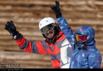Tehran, Iran - Tochal International Ski Resort - 2015 - 13