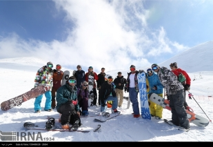 Tehran, Iran - Tochal International Ski Resort - 2015 - 17