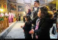 Isfahan, Iran Christians New Year 2016 07