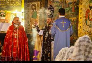 Isfahan, Iran Christians New Year 2016 11