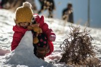 Winter joys in Alborz, Iran (Photo credit: MEHR News Agency)