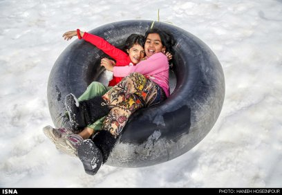 Fars, Iran - Winter recreation near Shiraz in Sepidan County 00