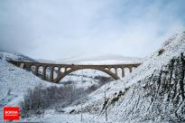 Mazandaran, Iran - Savadkuh County - Veresk bridge - Landscape, winter, snow 06