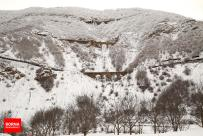 Mazandaran, Iran - Savadkuh County - Veresk bridge - Landscape, winter, snow 08