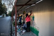 Walls of Kindness in Iran - 09 - Sari in Mazandaran Province