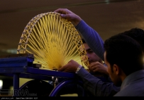 3rd National Spaghetti Bridge Competition at Milad Tower in Tehran, Iran 11
