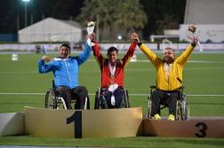 IPC Athletics Asia-Oceania Championships 2016 - Medal count 1st Iran, 2nd China, 3rd India - 02
