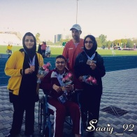 IPC Athletics Asia-Oceania Championships 2016 - Medal count 1st Iran, 2nd China, 3rd India - 05