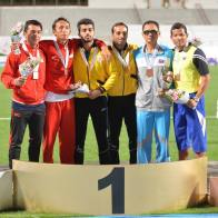 IPC Athletics Asia-Oceania Championships 2016 - Medal count 1st Iran, 2nd China, 3rd India - 07