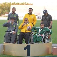 IPC Athletics Asia-Oceania Championships 2016 - Medal count 1st Iran, 2nd China, 3rd India - 13