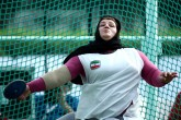 IPC Athletics Asia-Oceania Championships 2016 - Medal count 1st Iran, 2nd China, 3rd India - 14 - Hashemiyeh Motaghian