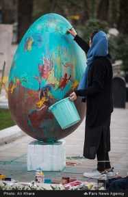 Tehran, Iran - Baharestan - Urban art event to welcome spring - 2016 (1394-1395) - 044